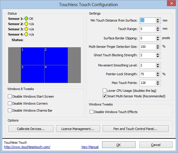 Click to view Touchless Touch screenshots